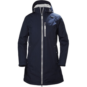 Helly Hansen Long Belfast Jakke Damer blå